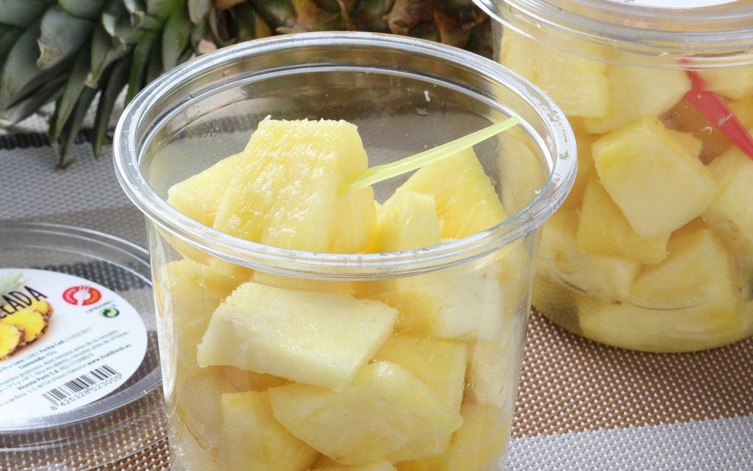 Frutas cortadas frescas